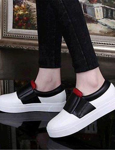 semicuero Gris Uk6 negro mocasines Cn39 us9 Gyht Blanco Zapatos Mujer us8 Casual Zq De Eu40 exterior plataforma Uk7 Gray Cn41 comfort White Eu39 z4gqvw