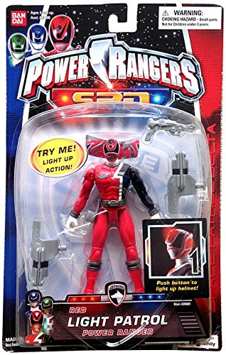 Power Rangers SPD Red Light Patrol (Rangers Light Power Spd)