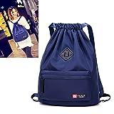 Cheap Waterproof Drawstring Bag, Gym Bag Sackpack Sports Backpack for Men Women Girls