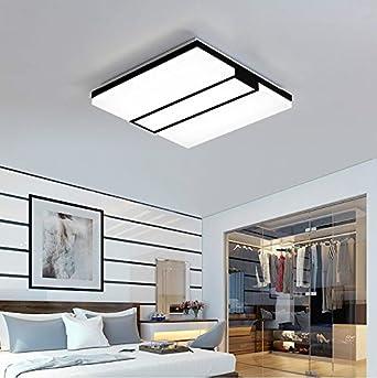 FAN4ZAME Lámpara De Techo Led Moderno Salón Simple Lámpara ...