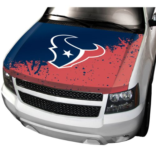 NFL Houston Texans Hood Cover, Blue, Standard