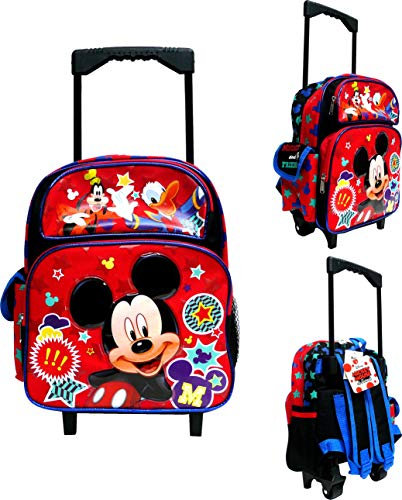 Backpack Rolling Friends (Disney Mickey Mouse & Friends 12