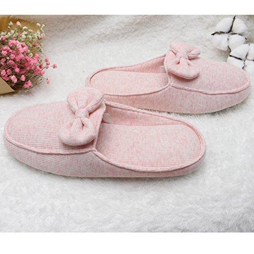 b5744d520c95 durable modeling Ofoot Women s Memory Foam Anti-Slip Indoor Slippers ...
