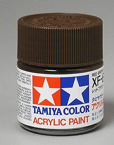 Tamiya America, Inc Acrylic XF64, Flat Red Brown, TAM81364