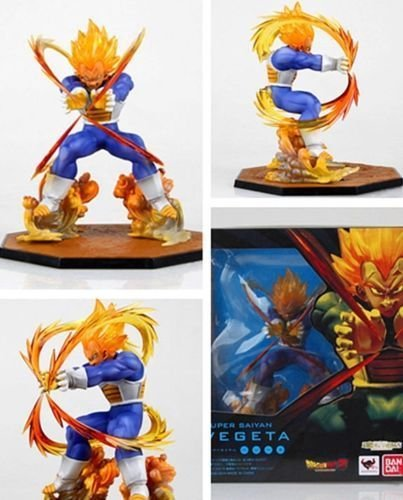 Figuarts Zero Dragonball Z VEGETA Super Saiyan Figure DBZ Bandai Figurine in Box
