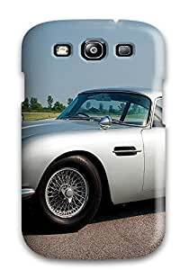 Rugged Skin Case Cover For Galaxy S3- Eco-friendly Packaging(aston Martin Db5 37)