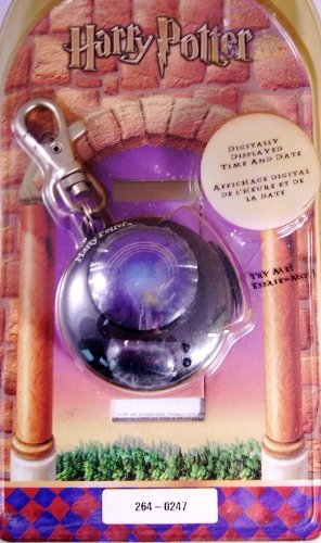 Harry Potter and the Sorcerer's Stone Clip-On Golden Snitch Watch