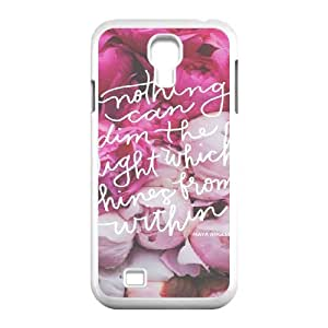Quotes And Wisdom Samsung Galaxy S4 Case White Yearinspace918756