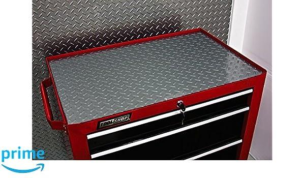 18 Inches x 72 ... Resilia Premium Tool Box Drawer Liner Silver Diamond Plate