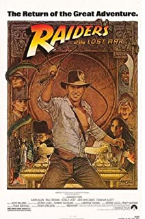 indiana jones raiders of the lost ark movie postersize 27x40