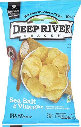 Deep River Salt - Deep River Snacks (NOT A CASE) Sea Salt Vinegar Kettle Chips