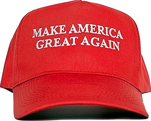 MAGA ..Red 2 Decals President Donald Trump Hat...Make America Great Again.