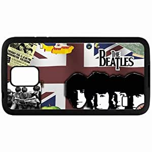 Personalized Samsung S5 Cell phone Case/Cover Skin The Beatles Music 10165 Black