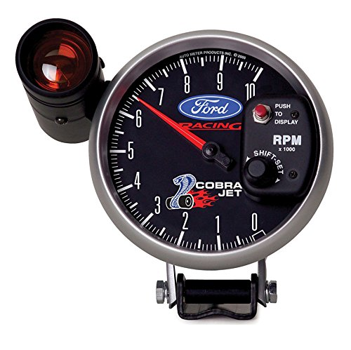 Auto Meter 880281 5 10,000 RPM Shift-Lite Tachometer Gauge for Ford