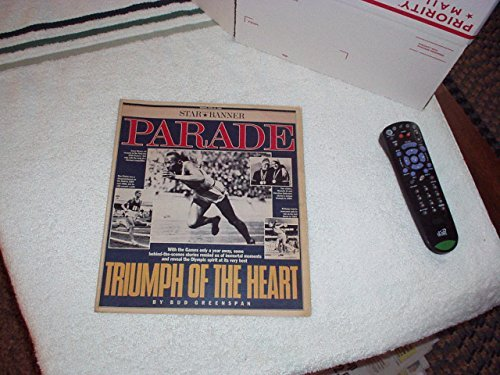 PARADE April 1991 Magazine Coverage on: *OLYMPIC GAMES Players JESSE OWENS, RON CLARKE, AL OERTER+ *SHELLEY WINTERS *CELEBRITIES *RECIPES *COMICS and more - Very RARE & COLLECTIBLE