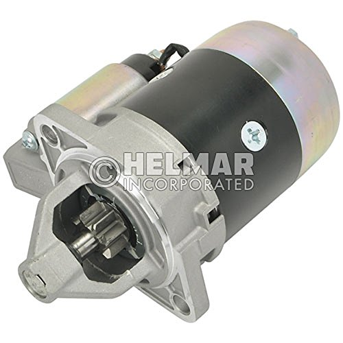 Clark Forklift Starter 3790819-NEW Straight Drive :Yes Gear Reduction No Volt 12 Teeth 8 Engine 4G52 & (Clark Gear)