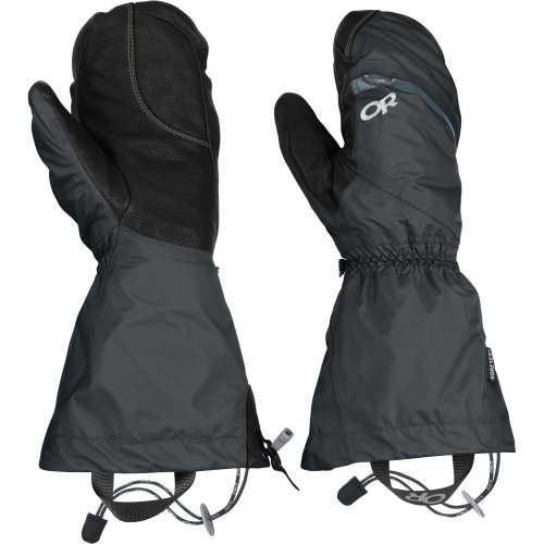 Outdoor Research Women's Alti Mitts (Black, Large)