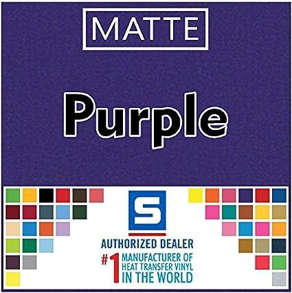 "15/"" x 5 Yards Purple Stahls/' Fashion-FILM Electric Heat Transfer Vinyl"