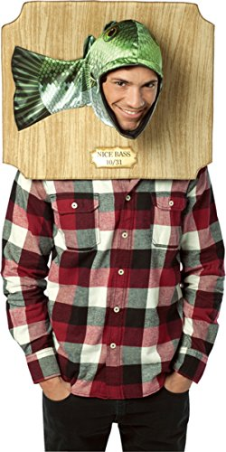 Trophy Head Nice Bass Costume Accessory -