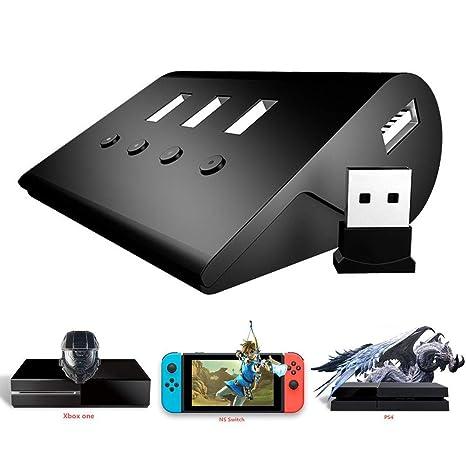 LLDHWX Adaptador de Teclado y ratón Adaptador para FPS PS4 P1 Xbox PC