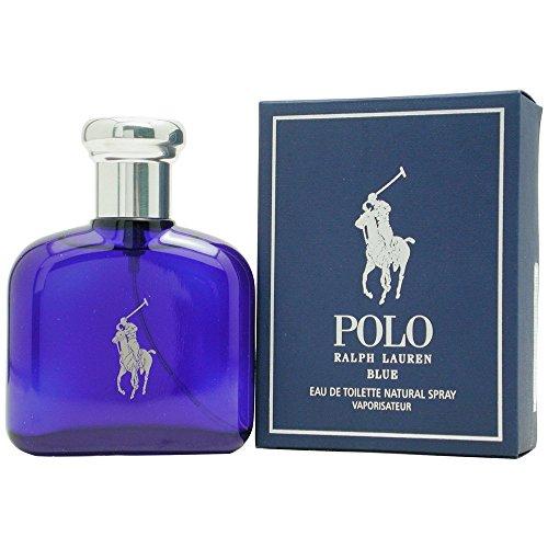 Polo Blue by Ralph Lauren for Men, Eau De Toilette Natural Spray, 1.3 Ounce ()