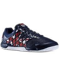 Mens Reebok Crossfit Nano 4.0 UK Flagpax Shoes Navy/Excellent Red/White/Black M48449 Size 8