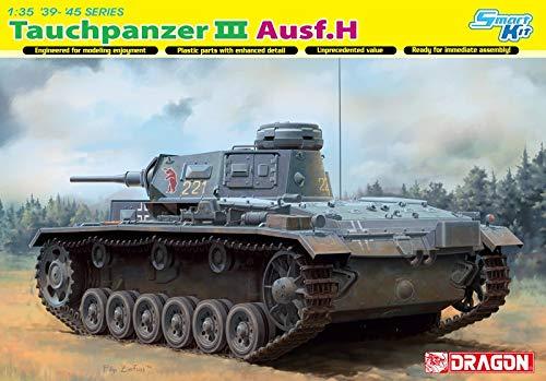 Dragon Models Pz.Kpfw.III (T) Ausf.H Model Kit (1/35 Scale)