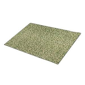 ZeroByte Vintage Floral Doormat Vintage Inspired Dog Doormat