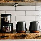 Fellow 1122 Double Wall Ceramic Mugs, 8 Ounces