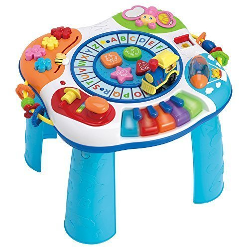 WinFun Letter Train & Piano Activity Table [並行輸入品]   B01K1US3ZW