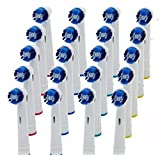 Moredental 20 x Electric Tooth brush Heads Replacement for Braun Oral B Vitality Precision