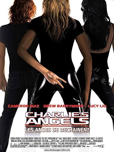 CHARLIE'S ANGELS Original Movie Poster 27x40 - Dbl-Sided - Cameron Diaz - Drew Barrymore - Lucy Liu - Bernie - Angel Movie Poster
