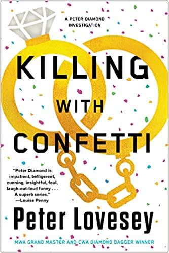 book cover: Killing with Confetti by Peter Lovesey