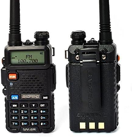 Walkie Talkie Baofeng UV-5R con Pinganillo Auricular: Amazon ...