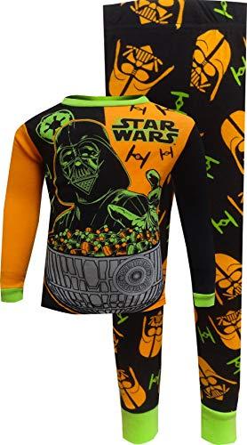 StarWar  Big Boys  ,  StarWar  2-Piece Cotton Halloween Pajama Set  ,  Black  ,  8 -