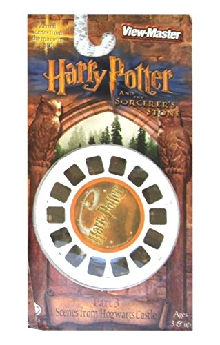 Harry Potter and the Sorcerer's Stone Part 1 View-Master 3 Reel Set - 21 3d Images by View Master