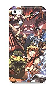 Renee Jo Pinson's Shop 1634855K56635319 New Style Tpu 5c Protective Case Cover/ Iphone Case - Street Fighter