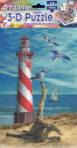 Lighthouse Crystal Laser (Artgame - Lighthouse - 3D Mini Puzzles)