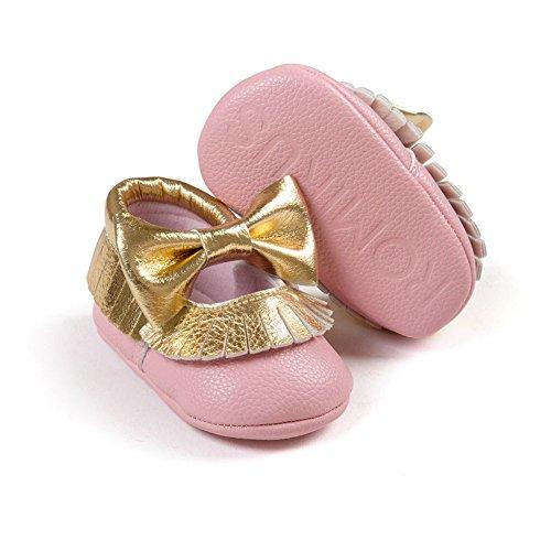 d1a8f27c ... eshoo Muelles del niño sol greppia Zapatos de cuero del Niño Mocasín  Prewalker 0 ...