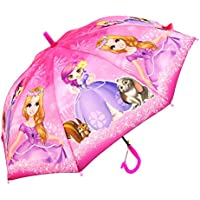 ShopCash Beautiful Printed Automatic Umbrella for Kids (0-15 Years) Multicolor & Design (for Girls)
