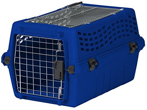 Aspen Pet Two Door Deluxe Kennel, Medium, True Blue