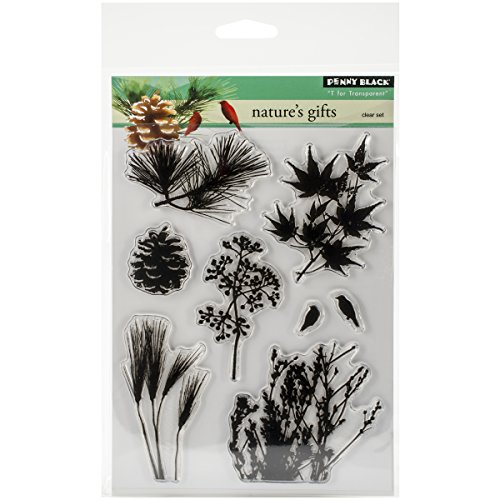 Penny Black 30-251 Decorative Rubber Stamps, Nature