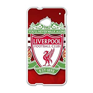 Loverpool Football Club White htc m7 case by icecream design