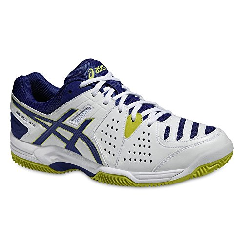 CHAUSSURES ASICS G.DEDICATE 4 M CLAY E508Y 0143/WHT-BL-7