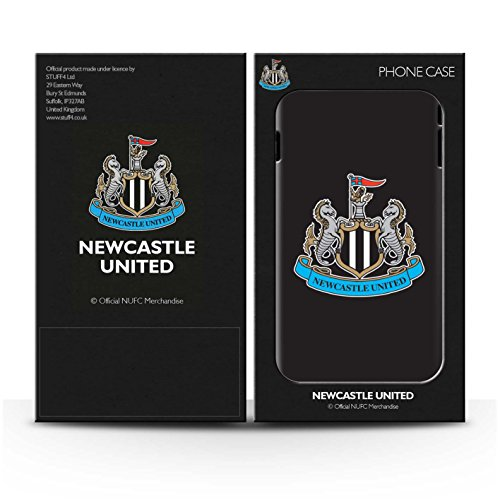 Offiziell Newcastle United FC Hülle / Glanz Snap-On Case für Apple iPhone 7 / Pack 12pcs Muster / NUFC Fußball Crest Kollektion