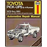 img - for Toyota Pick-Ups & 4-Runner Automotive Repair Manual book / textbook / text book
