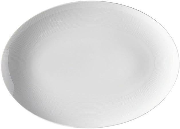 Thomas' Loft Piatto Ovale 40 cm, Bianco: Amazon.it: Casa e