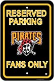 Pittsburgh Pirates PLASTIC PARKING SIGNS