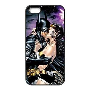 Batman kiss Fashion Comstom Plastic case cover For Iphone 5s