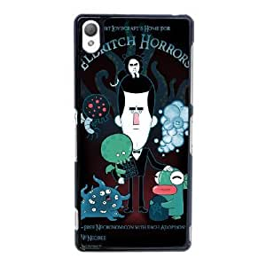 Sony Xperia Z3 Cell Phone Case Black LOVECRAFT'S HOME FOR ELDRITCH HORRORS YT3RN2582196